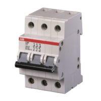 E203/SHD203 TRIPLE POLE ISOLATORS DIN RAIL MOUNT (415 VAC) (3NO) - (E203/125r)