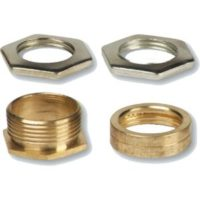 GALVANISED LOCKNUTS - 20MM