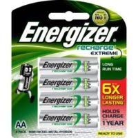 ENERGIZER RECHARGE EXTREME AA4