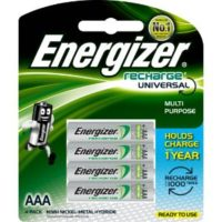 ENERGIZER RECHARGE POWER PLUS AAA4