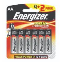 ENERGIZER AA 4+2