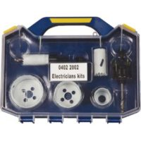 9 PIECE ELECTRICAL HOLESAW KIT